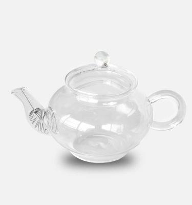 aimee provence glass tea pot