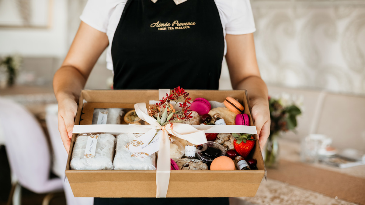 Sydney Gift Hampers And Luxe High Tea Hamper Styled By Aimee Provence