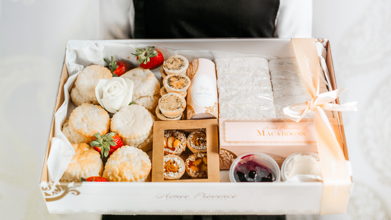 Gift food hamper aimee provence