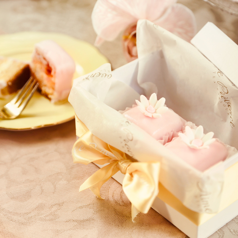 fondant fancies food