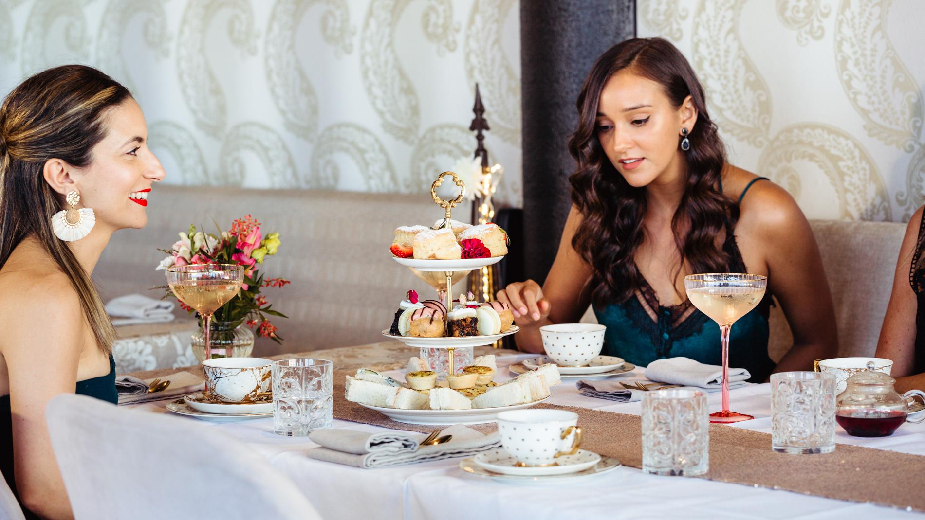 high tea at aimee provence